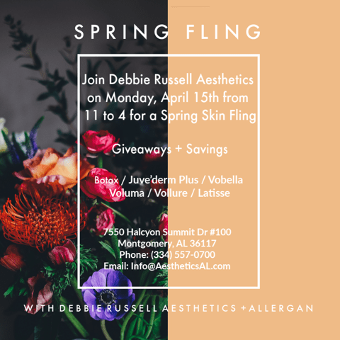 Spring Skin Fling with Debbie Russell Aesthetics + Allergan